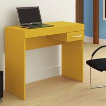 Mesa para Notebook Cooler 1 Gaveta Amarela - Artely -