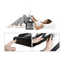 Mesa para Notebook em Alumínio com 2 Cooler e Mouse Pad T8 - Reparocell
