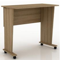 Mesa para Notebook Multiuso Dobrável Tecno Mobili Amendoa -