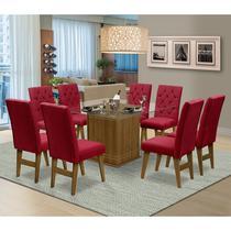Mesa para Sala de Jantar Saint Louis com 8 Cadeiras  Dobuê Movelaria - Dobue
