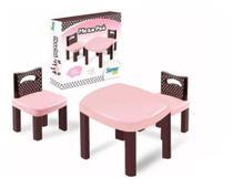 Mesinha Com 2 Cadeiras - Simo Toys poá - ref 299 Simotoys -