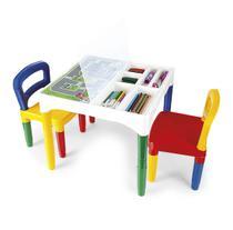 Mesinha Didática Infantil Com Cadeiras - Poliplac -