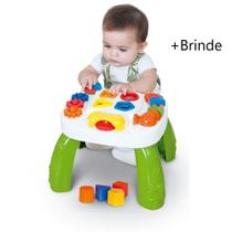 Mesinha Didática Pedagógica Infantil Criança Mesa + Brinde - Cotiplás