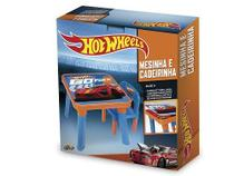 Mesinha e Cadeira Hot Wheels FUN HW6020