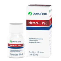 Metacell Pet frasco com 50ml - Ourofino