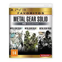 Metal Gear Solid Hd Collection - Favoritos - PS3 - Konami