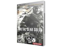 Metal Gear Solid: Peace Walker p/ PSP - Konami