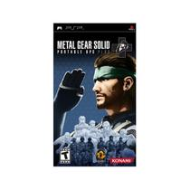 Metal gear solid: portable ops plus - psp - Sony