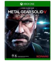 Metal Gear Solid V - Ground Zeroes - xbox One - Konami -