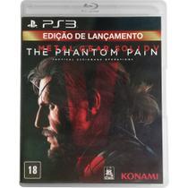 Metal Gear Solid V: The Phantom Pain - Edição de Lançamento - PS3 - Konami