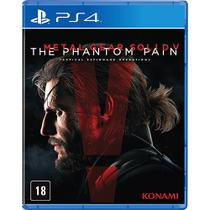 Metal Gear Solid V: The Phantom Pain - PS4 - Konami