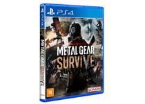 Metal Gear Survive Mídia Física Original PS4 Lacrado - Sony