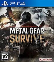Metal Gear Survive PS4 Original Lacrado -