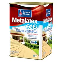 Metalatex Resina Acrílica Eco 18 litros - Sherwin williams
