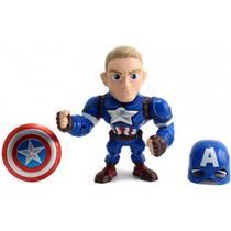 Metals Die Cast Marvel Civil War 15 Cm  Capitao America Dtc 4018 - Dymo
