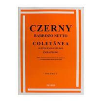 Método Czerny Piano 60 Pequenos Estudos Vol. 1 Barrozo Netto RB 0031 - Ricordi