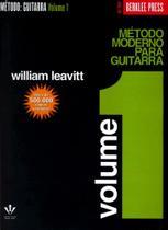 Método moderno para guitarra - volume 1 - Editora Irmaos Vitale