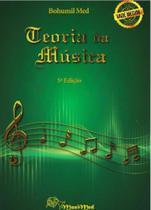 Método Teoria da Música - Bohumil Med - 5 ª edição - Irmãos Vitale
