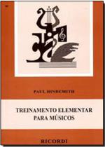 Método Treinamento elementar p/ Músicos - Paul Hindemith - Ricordi