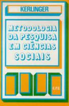 Metodologia da pesquisa em ciências sociais: Um tratamento conceitual - Epu -