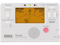 Metronomo-Afinador Digital KORG Compacto TM-60WH -