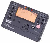 Metrônomo / Afinador Korg Tm50 Bk  TM-50 -