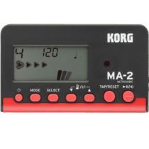 Metrônomo Digital Korg MA-2 BKRD Preto e Vermelho -
