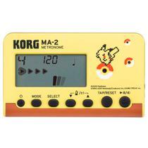 Metrônomo Digital Korg MA-2-PK Linha Pokémon Pikachu -