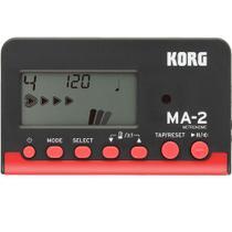 Metrônomo Digital Korg MA2 BKRD Preto e Vermelho -