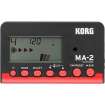 Metronomo Digital Portátil Korg Ma-2 Bkrd -