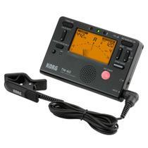 Metrônomo e Afinador Digital Korg TM-60C com Clipe CM-200 -