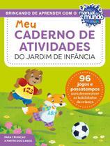 Meu caderno de atividades do jardim de infância - Sextante