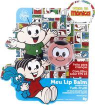 Meu Lip Balm Cascão Protetor Labial Infantil Tutti Fruti Lata - Turma Da Monica
