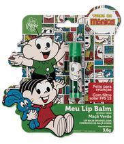 Meu Lip Balm Cebolinha Protetor Labial Infantil Maçã Verde - Turma Da Monica