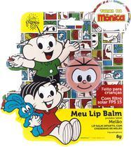 Meu Lip Balm Cebolinha Protetor Labial Infantil Melão Lata - Turma Da Monica