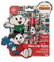Meu Lip Balm Mônica Protetor Labial Infantil Morango - Turma Da Monica