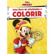 Meu livro de atividades e colorir mickey sobre rodas pop - Culturama