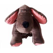Meu Primeiro Puppet Cachorro Zip Toys Marrom -