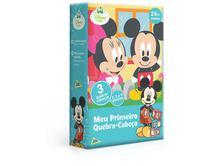 Meu Primeiro Quebra-Cabeça Disney Baby Mickey Minnie +24 Meses - Jak