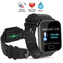 4f658a0c063 Mi A6 Sport Relógio Pulseira Smartwatch Android e IOS