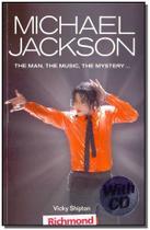 Michael jackson + cd - Moderna -