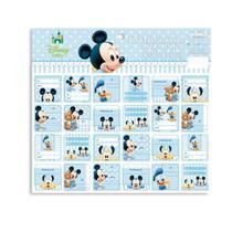 Mickey Baby Adesivo De-Para c/48 - Cromus -