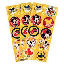 Mickey Clássico Adesivo Redondo c/30 - Regina -
