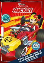 Mickey: Disney Colorir com Adesivos Bilíngue - Online Editora -