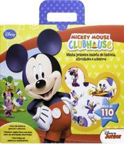 Mickey Mouse Clubhouse - Minha Primeira Maleta De Historia, Atividades E Adesivos - Dcl