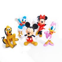 Mickey Mouse Turma do Mickey 5 miniaturas - Ptoys