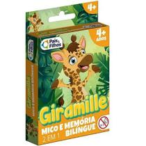 Mico e jogo da memoria 2 em 1 - giramille - Pais E Filhos