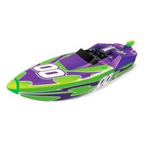 Micro Boats Blister - Lancha Motorizada Verde e Roxo 00 - DTC 4112 -