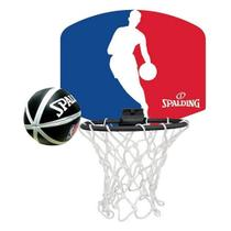 Micro Kit Tabela Basquete Hoop Set NBA - Spalding -