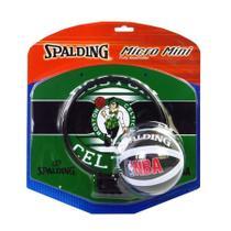 Micro Mini Tabela de Basquete Spalding NBA Boston Celtics -